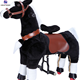 Cheap kids favorite amusement rides small mechanical walking toy horse for sale