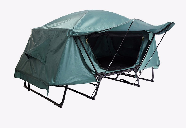Detailed Images & Fujie Outdoor Double Oversize Rainfly Quality Military Tent Cot ...