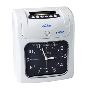 time card machine time recording attendance system s 960p - Time Card Machine