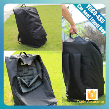 Custom Durable Nylon Gate Check Bag For Car SeatsCar Seat Cover Travel