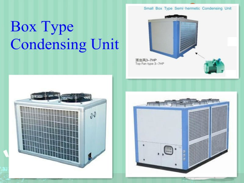 Box Type, Compression Condensing Units, CE Certificate