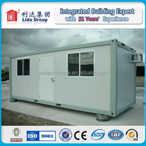 cheap prefab houses with galvanized steel base/prefabricated homes cabins with platform/container homes