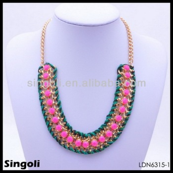 latest jewellery necklace designs gold beads with