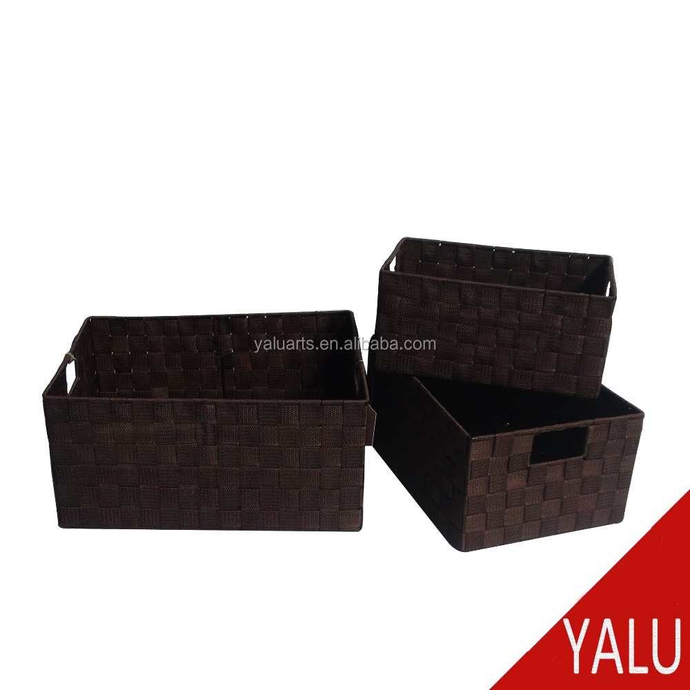 Nylon Woven Storage Baket Nylon Basket H-16084