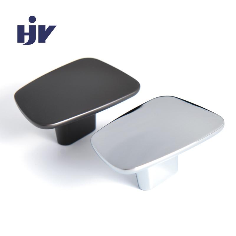 HJY 128mm Bow cabinet pull handles Black nickel door handle modern