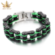 Bike Chain Hand Chain Stainless Titanium Steel Bracelet for Men Women