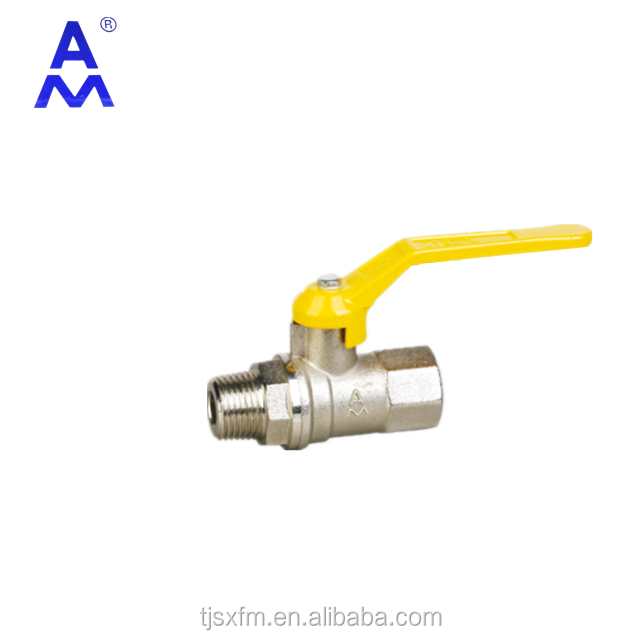 Liquefied petroleum gas and mixed gases ball valve