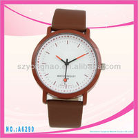 New Arrival ladies luxury genuine leather strap vintage watch
