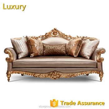 luxury classic european sofa set and luxury italian sofa-KS73-3 ...