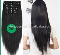 hair cutting clips full head clip in human hair extensions for black women