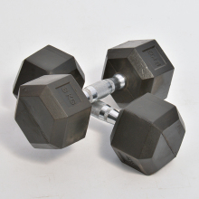 Wholesale crossfit gym equipment custom hex adjustable 10kg dumbbells set 5, 10, 15, 20, 25, 30, 35 and 45 lbs