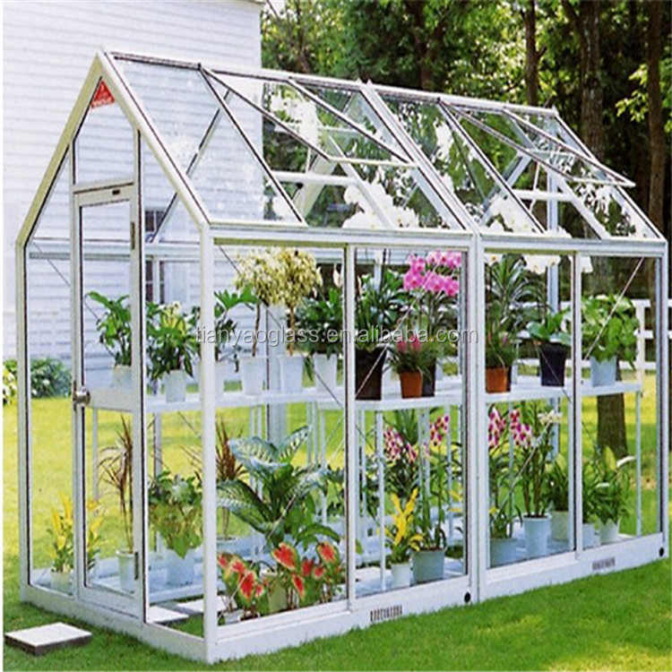4mm horticultural and agricultural glass greenhouse tempered for tomato and stawberry growing