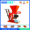 Small Investment ECO BRAVA soil cement brick machine, clay brick machine making machine, brick molding machine