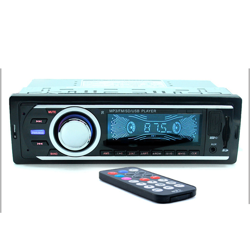 Car Radio 12V SD/USB Slot Aux Input Auto Radio Car FM MP3