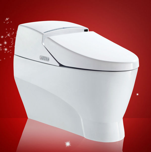 Bathroom Equipment of High Efficiency One-Piece Water Sense Toilet