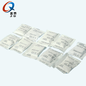 Small bag packing white silica gel absorbent desiccant