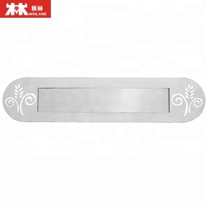 Stainless Steel Mailbox slot letter plate