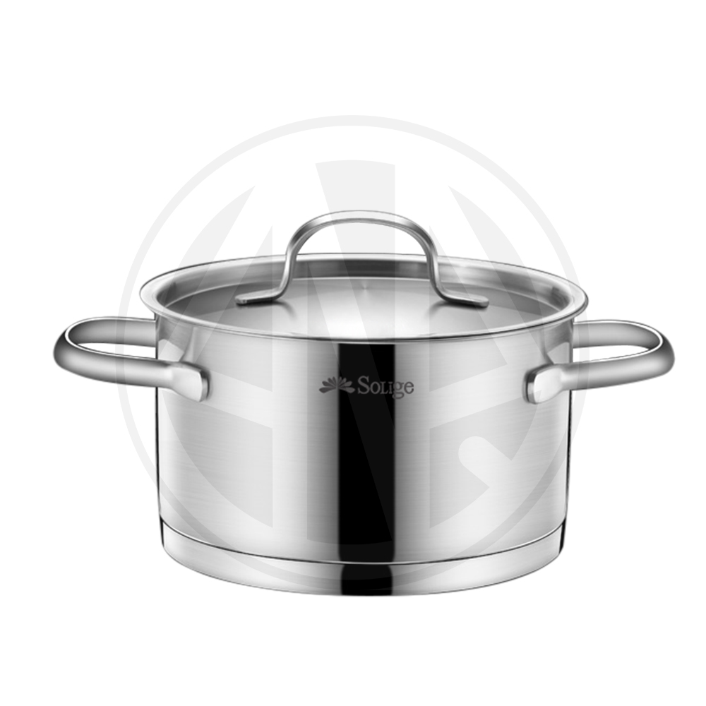 Induction Stainless Steel Cookware Set, Masterclass