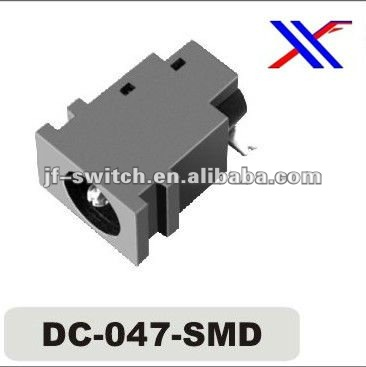 dc input jack for SMT(dc-047-smd),mini dc jack connector socket,female dc jack