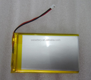 Rechargeable Li-polymer battery LP 403759 1000mAh 3.7V Lipo battery