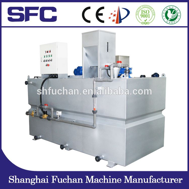 High Perfomance SFC Polymer solution PE dosing / mixing system