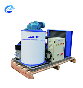 OMT 500kg Solar System Flake ice making machine for fish keeping