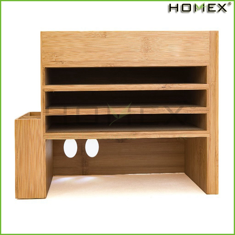 High quality document rack, office supplies holders desk organizer Homex-BSCI