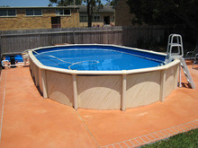 Waterproof strong outdoor prefabricated swimming pools nice folding swimming pool fence