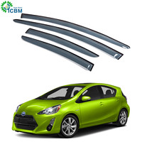 Injection universal rear shade factory car window coated sun visor for PRIUS 12-15