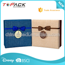 Customized made bracelet jewelry gift paper packaging box factory