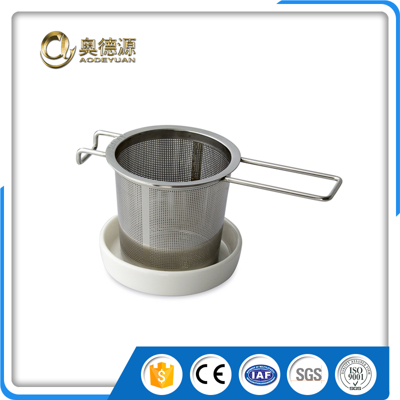 kitchen accessory 18/8 stainless steel material tea infuser tea filter