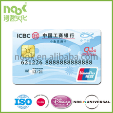Magnetic Plastic Bank ATM Card,