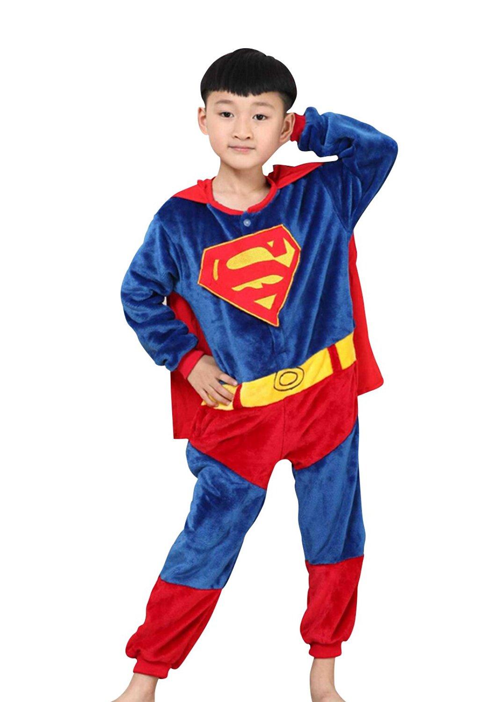 e55e9bd9e0 Get Quotations · Children s Halloween Cosplay Superhero Animal Pajamas  Animal Onesie sleepwear