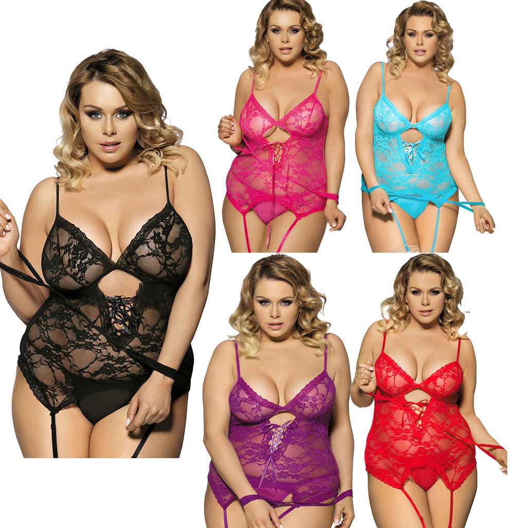 1b71ced95973 2016 HOT Sexy Lingerie for women Lace Dress + G String Sleepwear Underwear  Chemises nightgown langerie erotic nightie intimates