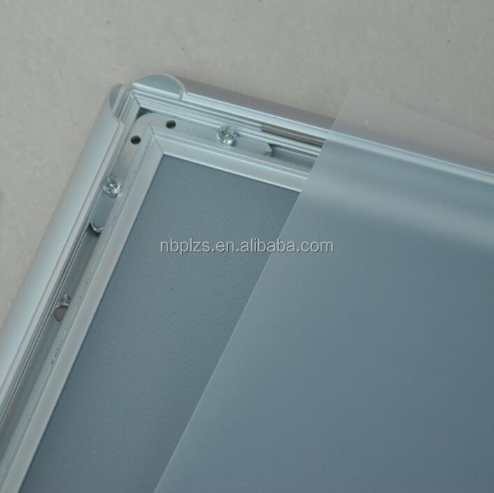 Snapper rahmen b1 aluminium poster snap rahmen für vorne offen ...