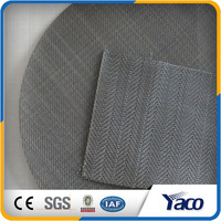 plain Weave Black Wire cloth in iron wire diamond-shaped