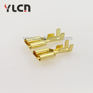 6.3mm female auto electric brass car battery terminal