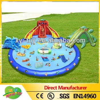 Gonfiabile gigante parco acquatico gonfiabili sport acquatici giochi gonfiabili galleggianti - Gonfiabili con piscina ...