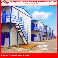 China Manufactured Eco friendly low cost prefab homes for tanzania