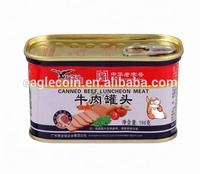 198g Canned Beef Luncheon Meat Beef Meat Delicious