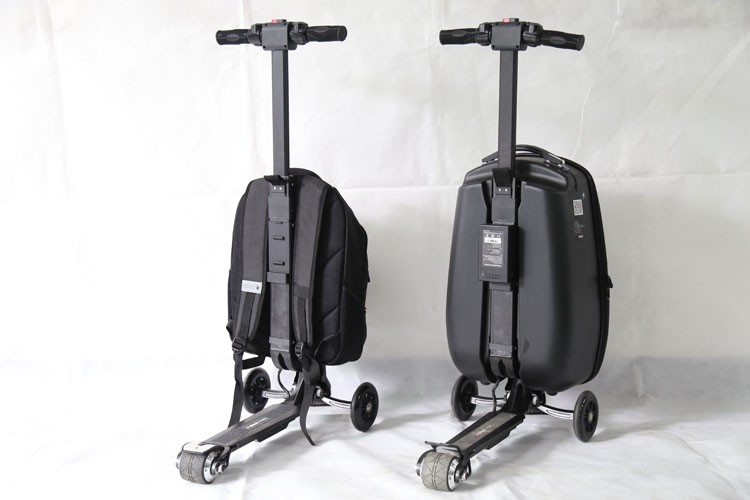 Folding Scooter Electric With Luggage Electric Scooer