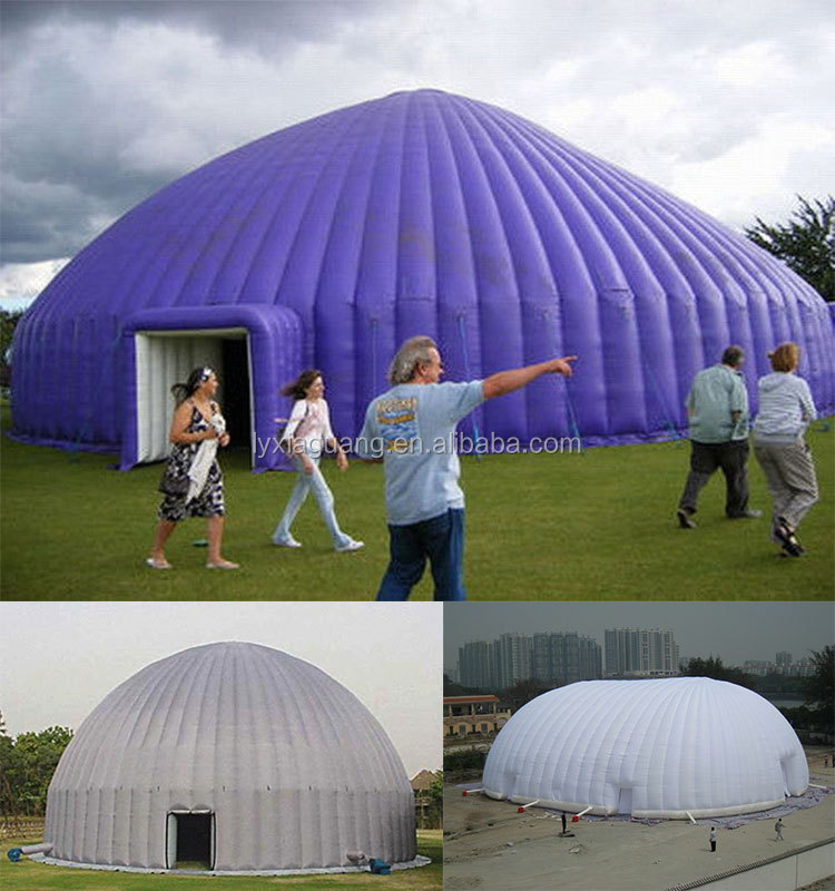 Inflatable Tennis Dome : Professional supplier giant inflatable dome tennis tent