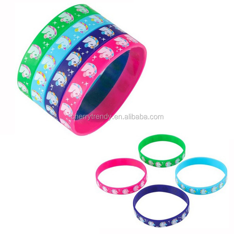 silicone buy bracelet wristbands party wristband birthday product favors with detail unicorn