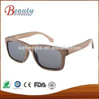 100% natural vogue customise simple style sunglasses wood bamboo shades