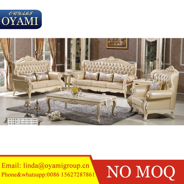 Neoclic Wooden Craving Latest Sofa