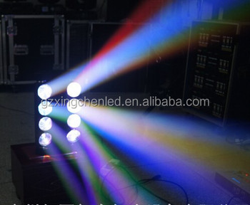 groothandel dj apparatuur guangzhou podium verlichting led verlichting spider 8x10w