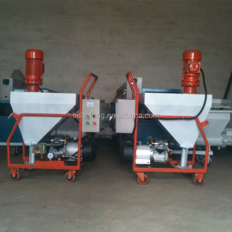 Cement mortar putty spraying plastering machine for wall