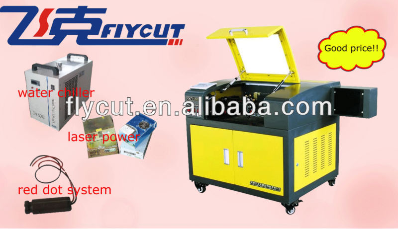 High speed CO2 cnc laser engraving and cutting machine price for paper,fabric,leather,wood,rubber,plastic,etc