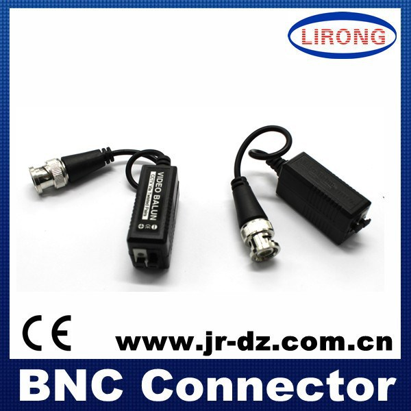 High quality Cooper Passive clips type ,Transceiver video balun,CCTV Accessories