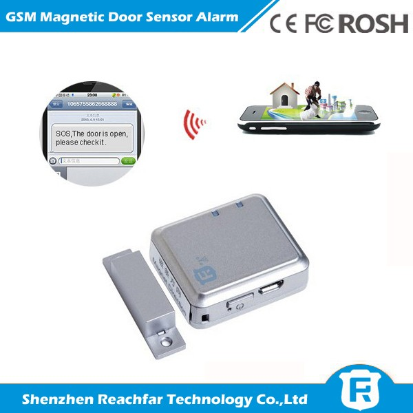 2015 New smart gms door alarm sensor rf-v13 gate magnetic alarm